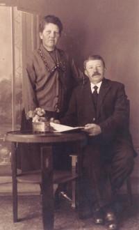 Anje van Kalker en Hindrik Riepma