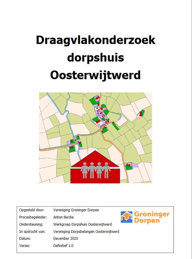Draagvlakonderzoek dorpshuis Oosterwijtwerd