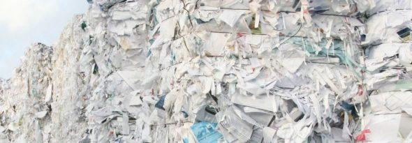 header oud papier